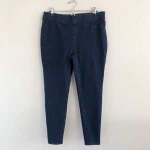 NWT J. Crew Pull-On Toothpick Jeans in Indigo 32